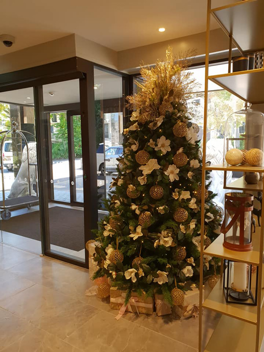 Christmas Tree Masterpiece, Grand Mercure Wellington