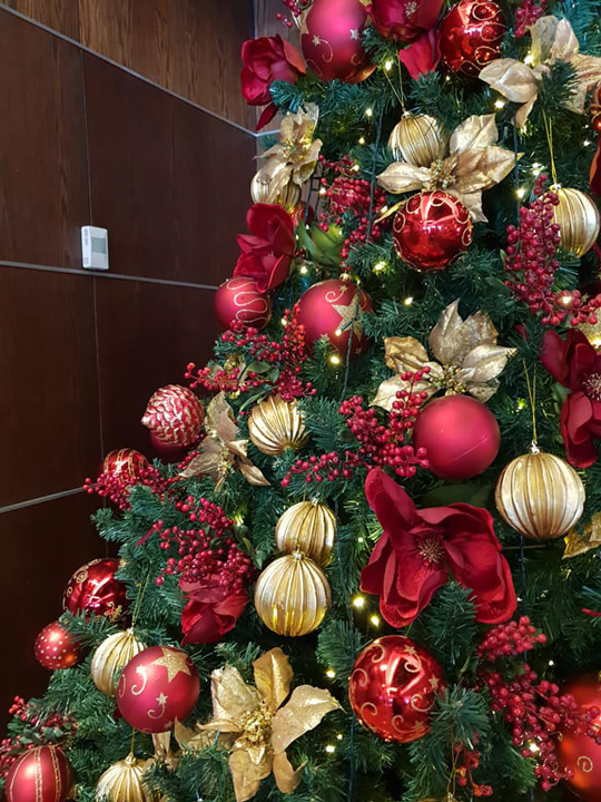 Christmas Tree Masterpiece, InterContinental Wellington