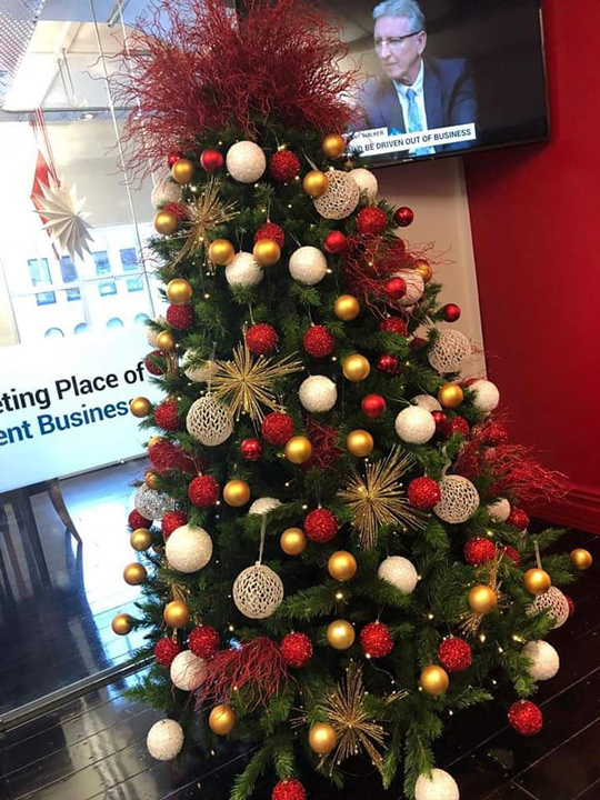 Christmas Tree Masterpiece, NBR