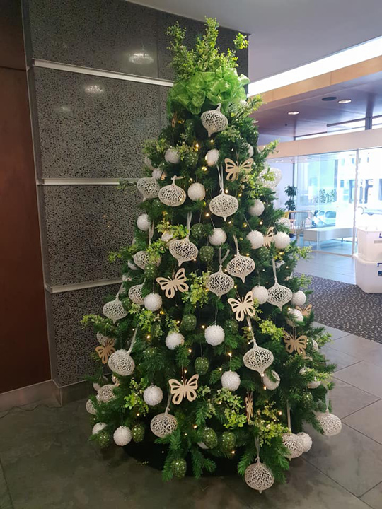 Christmas Tree Masterpiece, Novotel