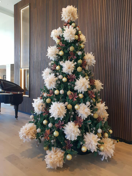 Christmas Tree Masterpiece, Oceania Rest Home