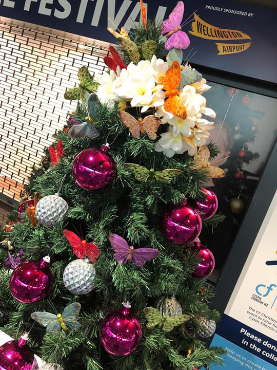Christmas Tree #88, Fiji Airways Wellington Airport