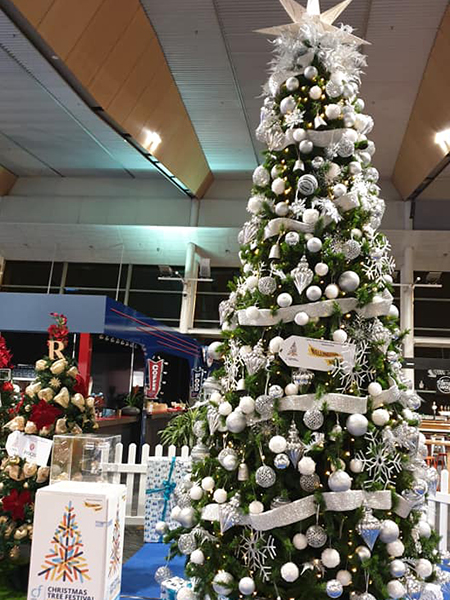 Christmas Tree #95, Mega Tree Wellington Airport